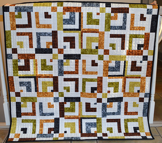 Traffic Jam Quilt Free Tutorial designed by Melissa Corry of Happy Quilting Melissa