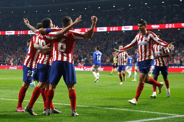 تعادل جديد لاتليتكو مدريد مع اشبيلية بهدف لمثله في الدوري الاسباني