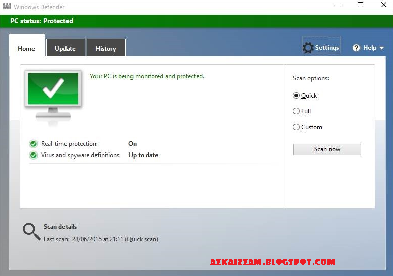 Tutorial: Cara Menonaktifkan Windows Defender pada System