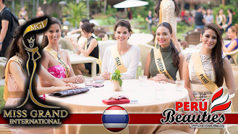 Candidatas visitan Resort - Miss Grand International 2015