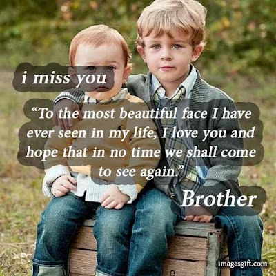 miss you brother images