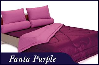 Sprei & Bedcover Shyra Polos - Fanta Purple