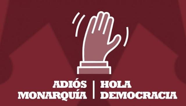 """Unidas Podemos en la Comunidad de Madrid anima a acudir al acto """"Adiós monarquía, hola democracia"""""""
