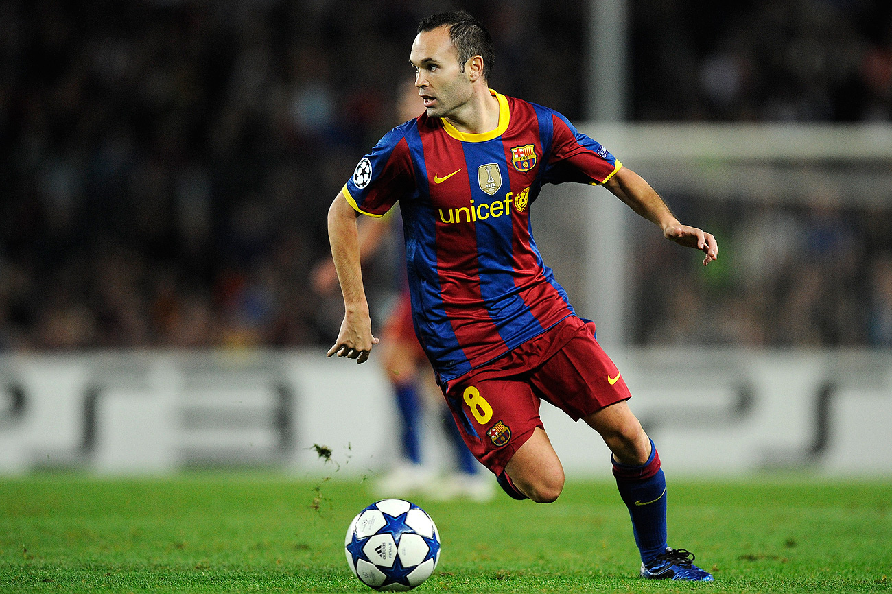Iniesta | Stars in Sports
