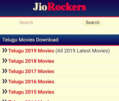 Jio Rockers – HD Telugu, Tamil, Malayalam, Kannada Hindi Movies Download