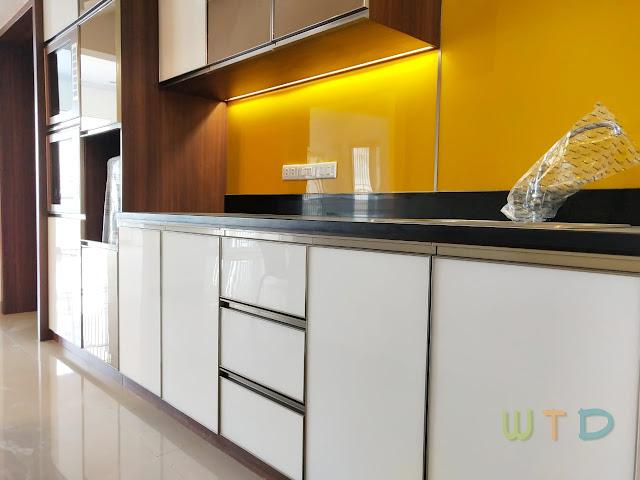 Desain Pantry Ruang Makan Bukit Alam Surya Lampung