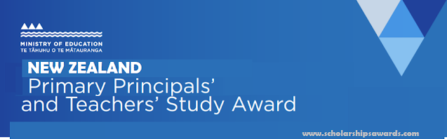 New Zealand primary principals and teachers study awards