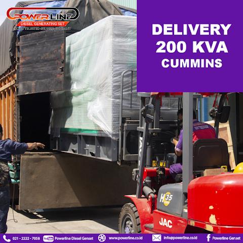 Delivery Genset 200 Kva Cummins