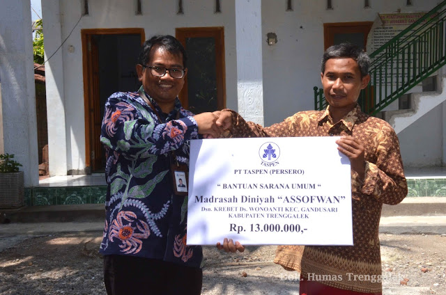 Berikan CSR Untuk Pendidikan, PT. TASPEN Dorong Peningkatan Kualitas SDM di Trenggalek