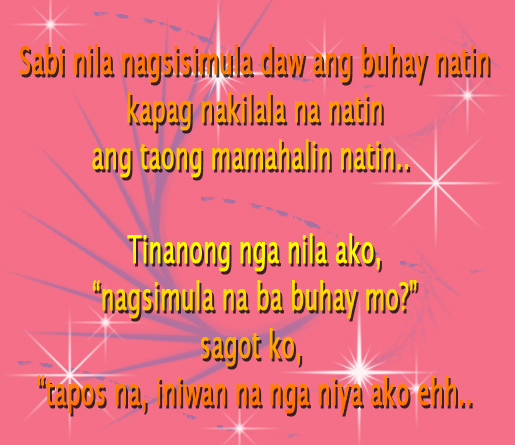 Picture Of Tagalog Love Quotes: Sweet Love Quotes