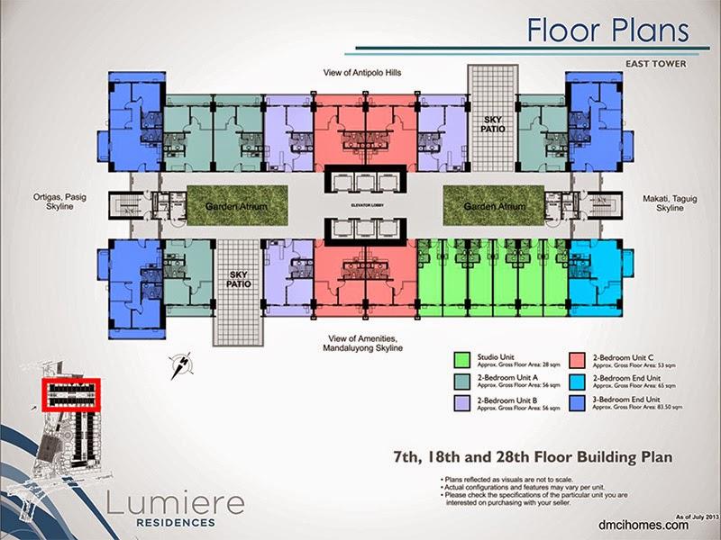 Lumiere Residences Garden Atrium Level