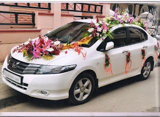 luxury wedding cars Honda City