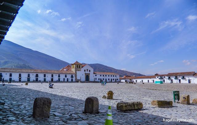 Plaza Mayor, Villa de Leyva, Colômbia