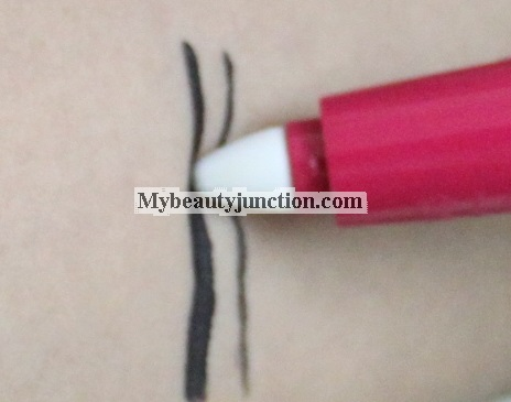 Bourjois Erasable Eyeliner review, swatch and use with other liners