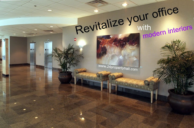Revitalize your office with modern interiors