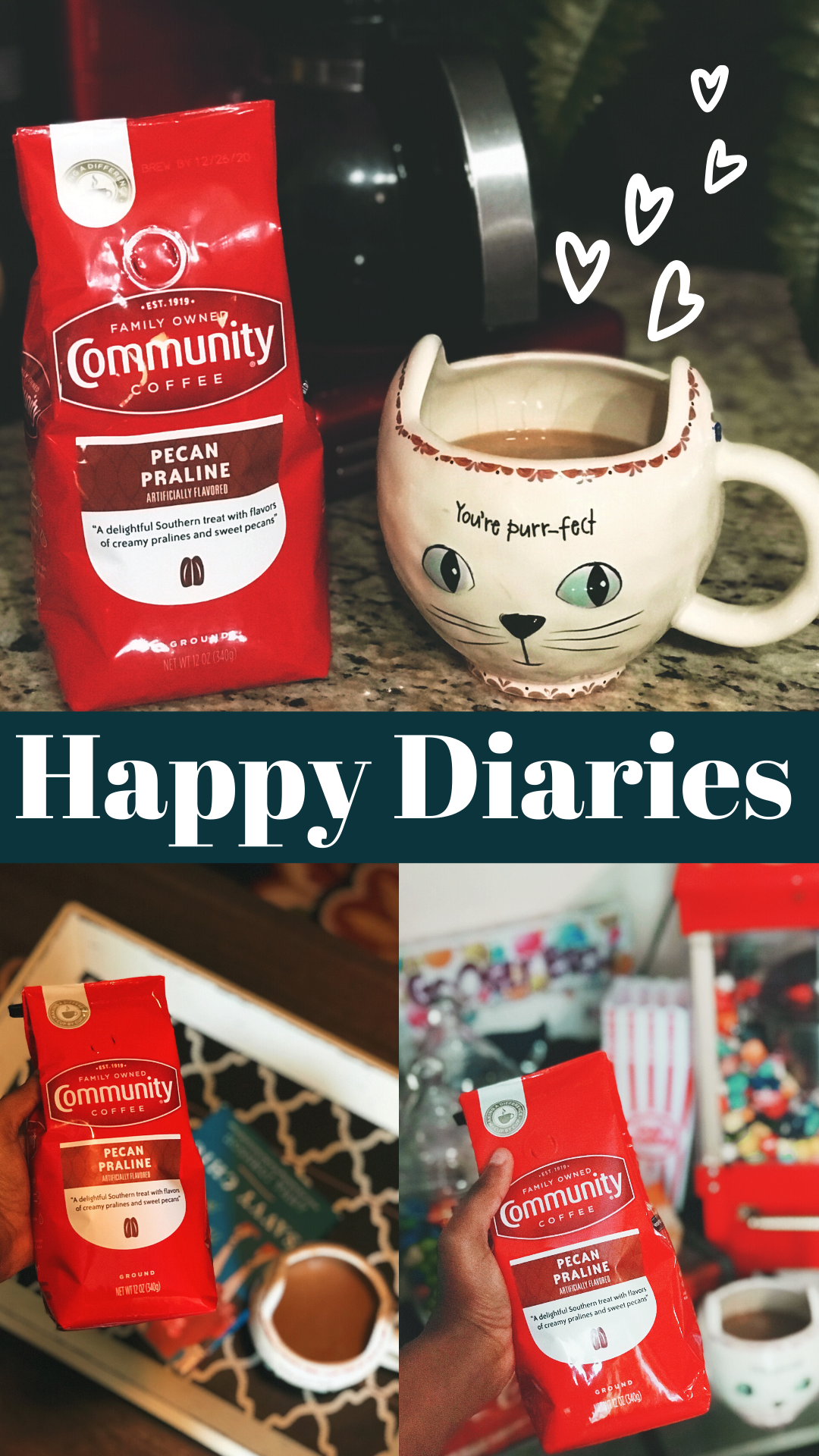 Happy Diaries: NEW In My Coffee Cabinet + Hello June!