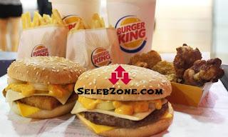 Daftar Harga Menu Paket Burger King Delivery Terbaru