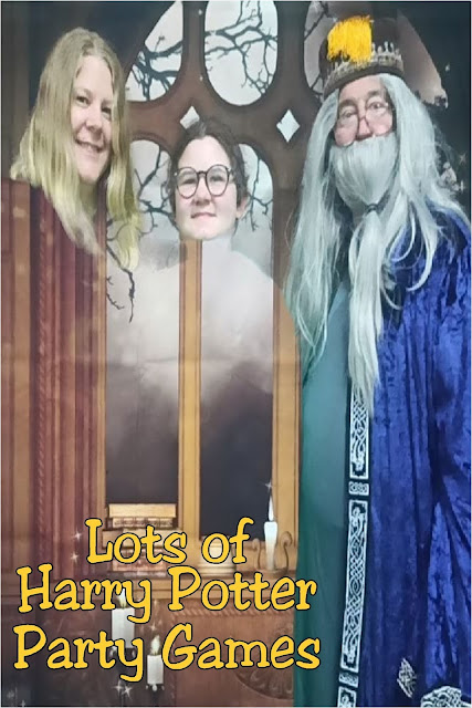 Find lots of fun Harry Potter party games for your next party.  There are great printable games, diy games, and games straight from the Harry Potter movies to give an authentic and fun feel to your Harry Potter party. #harrypotterpartygames #harrypotterbirthdayparty #diypartymomblog