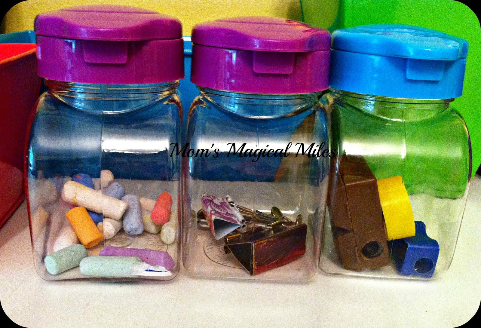 Craft Storage From The Dollar Store Mom S Magical Miles