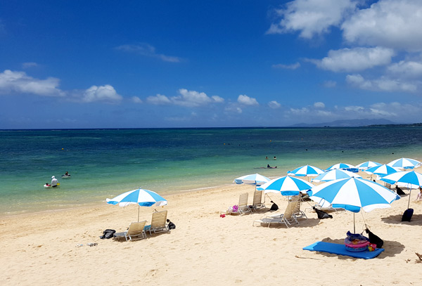 Beach at Okinawa