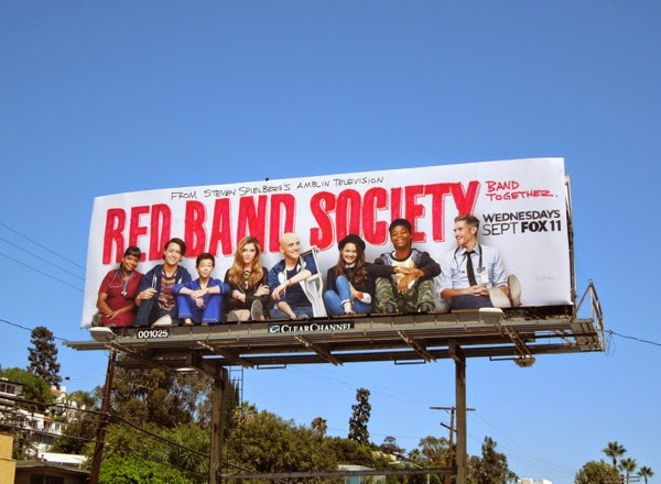 Red Band Society series launch billboard