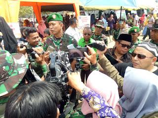 TMMD Wujudkan Sinergitas TNI-Polri dan Pemda Dalam Pembangunan Masyarakat dan daerah