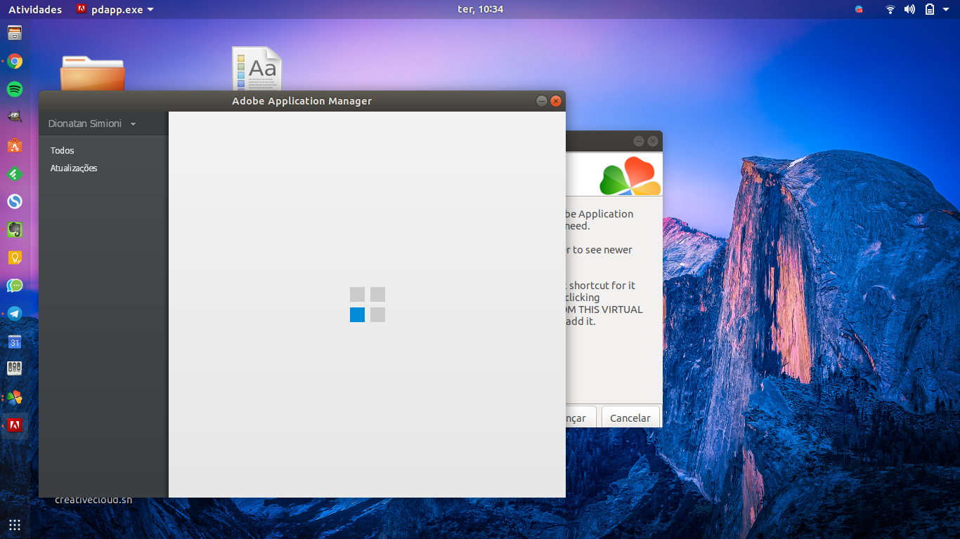 Adobe Creative Cloud no Linux - Um Script