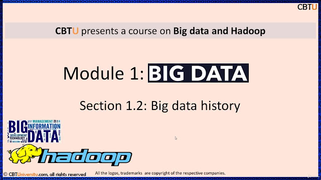 Big data and Hadoop framework
