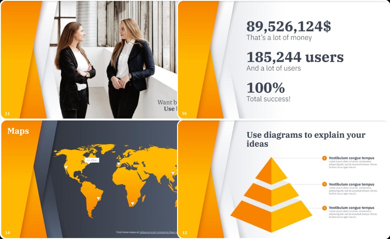 Business Pro a Google Slides template