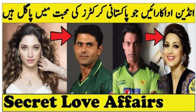 bollywood actress love affair with pakistani cricketers