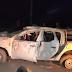 Capotamento de caminhonete com índios caiabis quase termina em tragédia