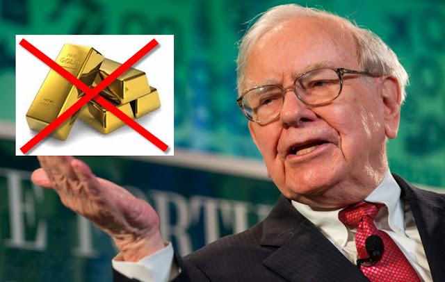 Warrent Buffett no invierte en oro