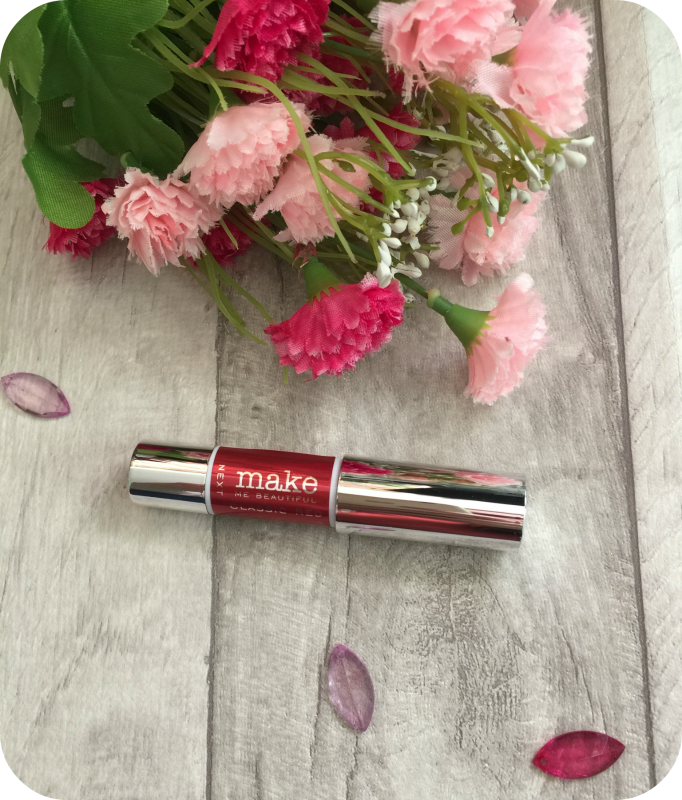 next make me beautiful red chubby lipstick