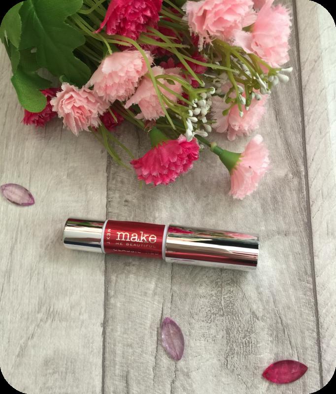 next make me beautiful red chubby lipstick