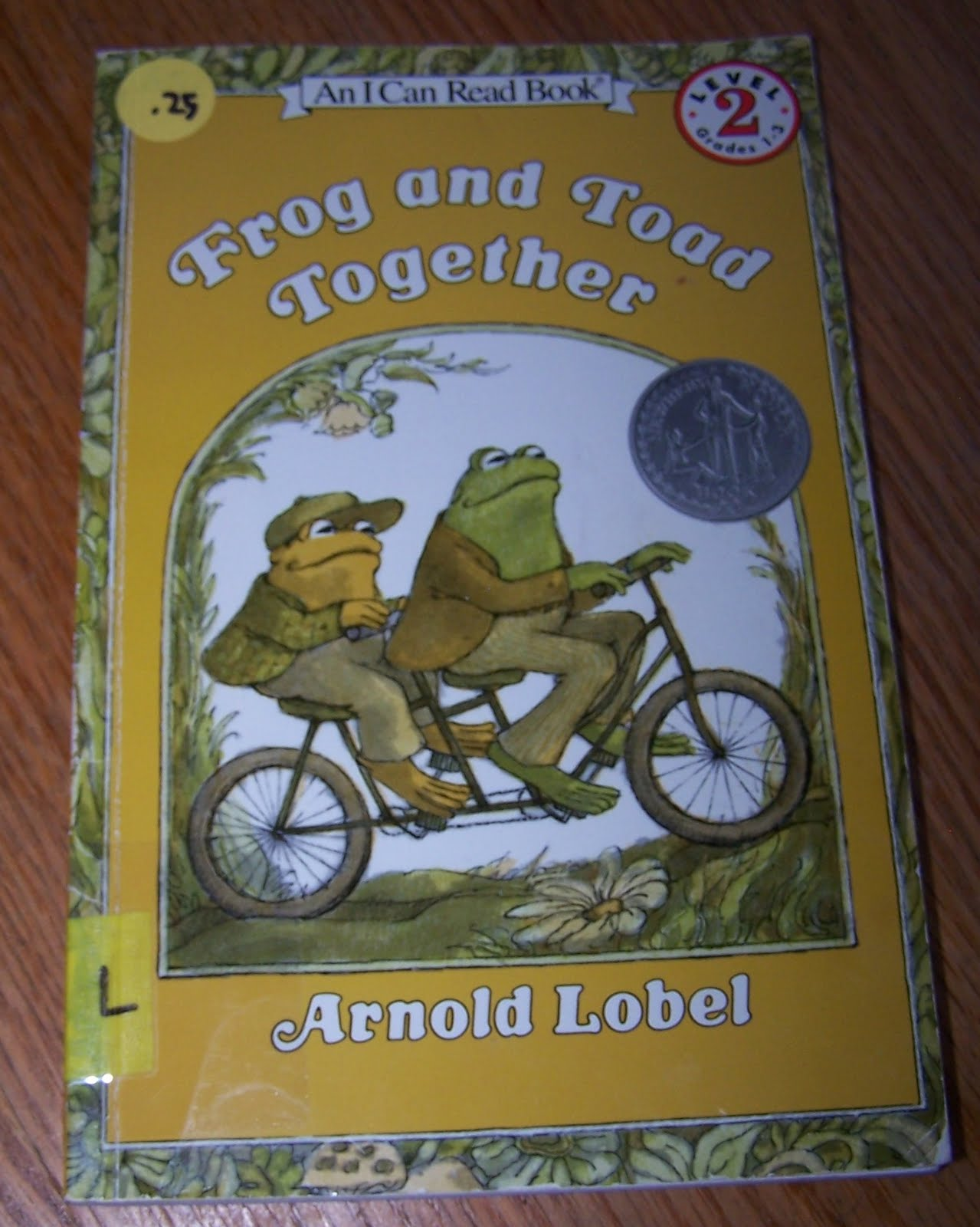 Reading With My Boys Frog And Toad Together