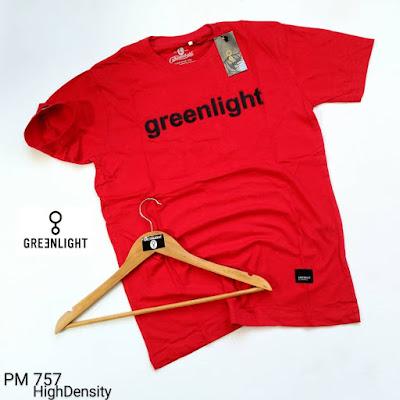 BAJU KAOS GREENLIGHT (PM757)