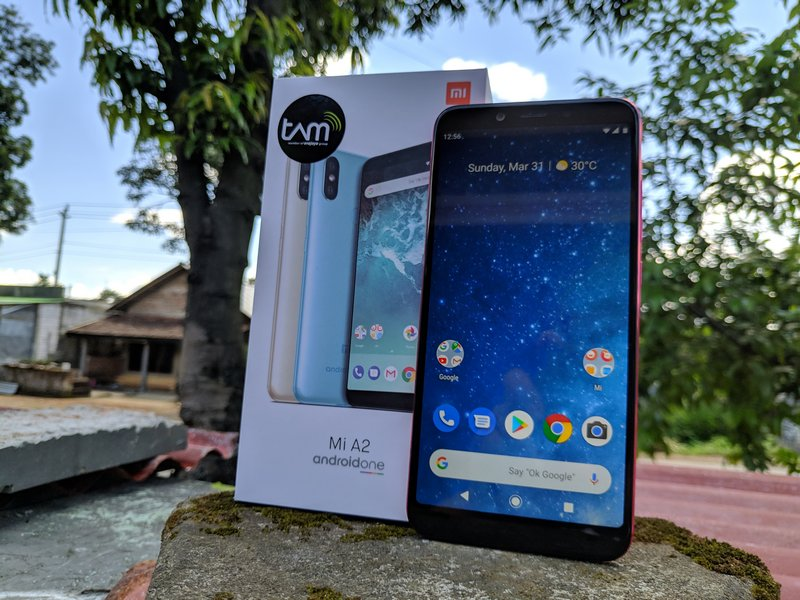 Xiaomi Mi A2 Review dengan OS Android 9.0 Pie