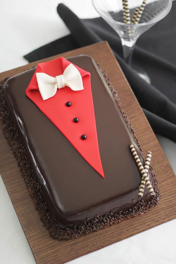 Chocolate Cake Covering Ideas