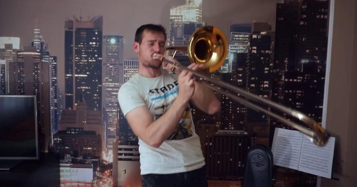 Kèn trombone yamaha YSL 154