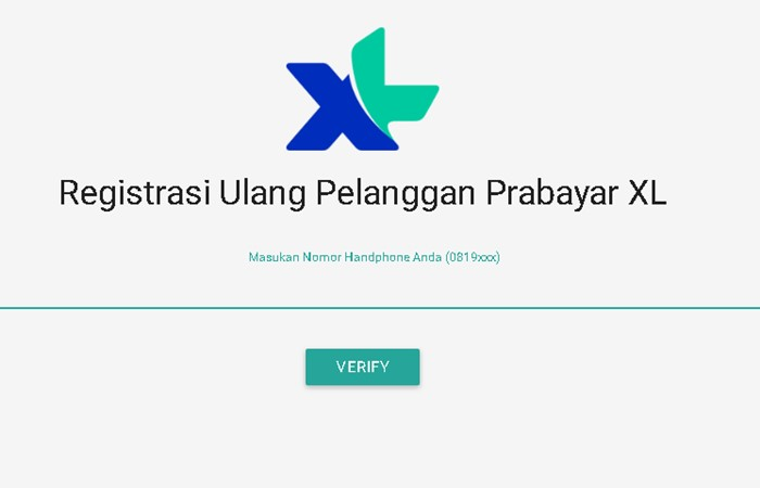 Registrasi Ulang Kartu XL Axis - xl.co.id