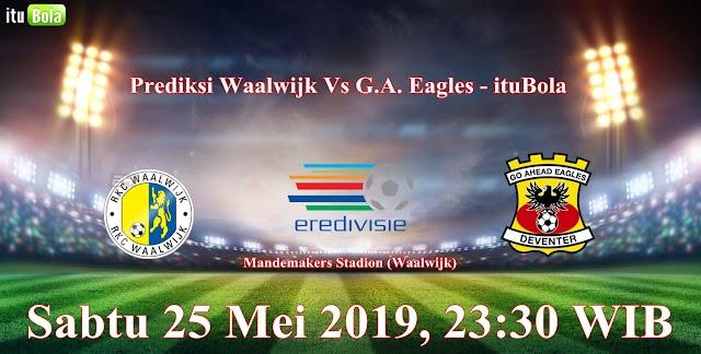 Prediksi Waalwijk Vs G.A. Eagles - ituBola