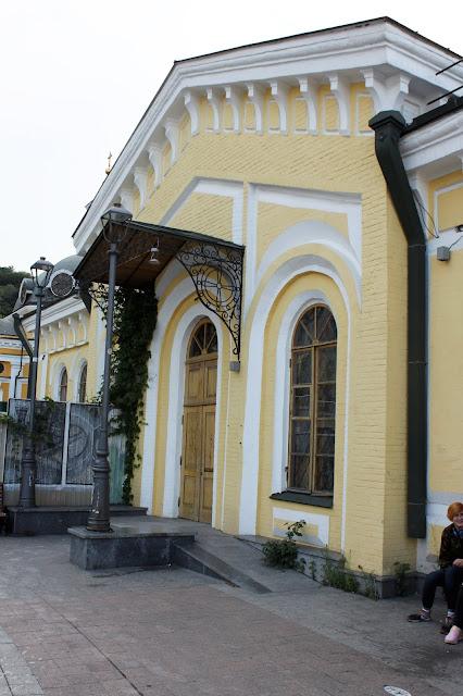 Фасад Почтового домика