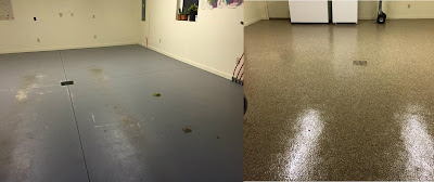 Epoxy Gives Plastic like Finish Available in Variety of Colors, Styles and Textures