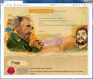 Cuba Ransomware - Leaks site