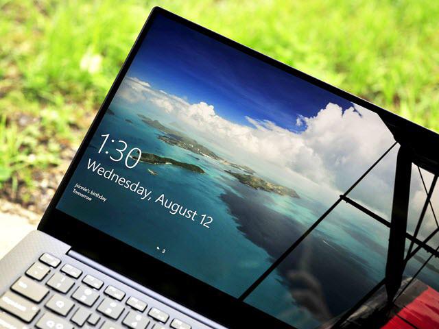 الان يمكنك تفعيل خاصية قفل الحاسوب عبر سحب الشاشة فقط
