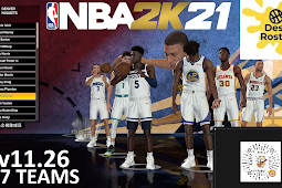 NBA 2K21 Dest Roster All in One V11.26 - 57 Teams by destteam