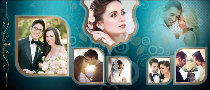 Wedding Photo Album Design Templates Psd And Cdr File Free Download
