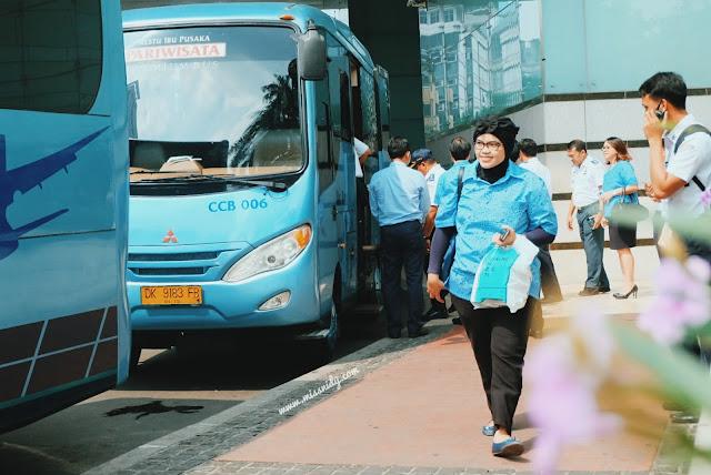 Blue Bird Jakarta Airport Connexion alternatif bus ke bandara Soekarno-Hatta