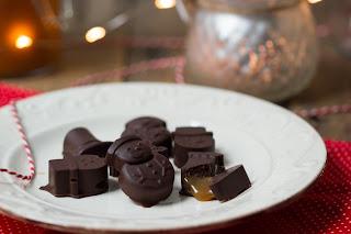Recette pralines chocolat caramel