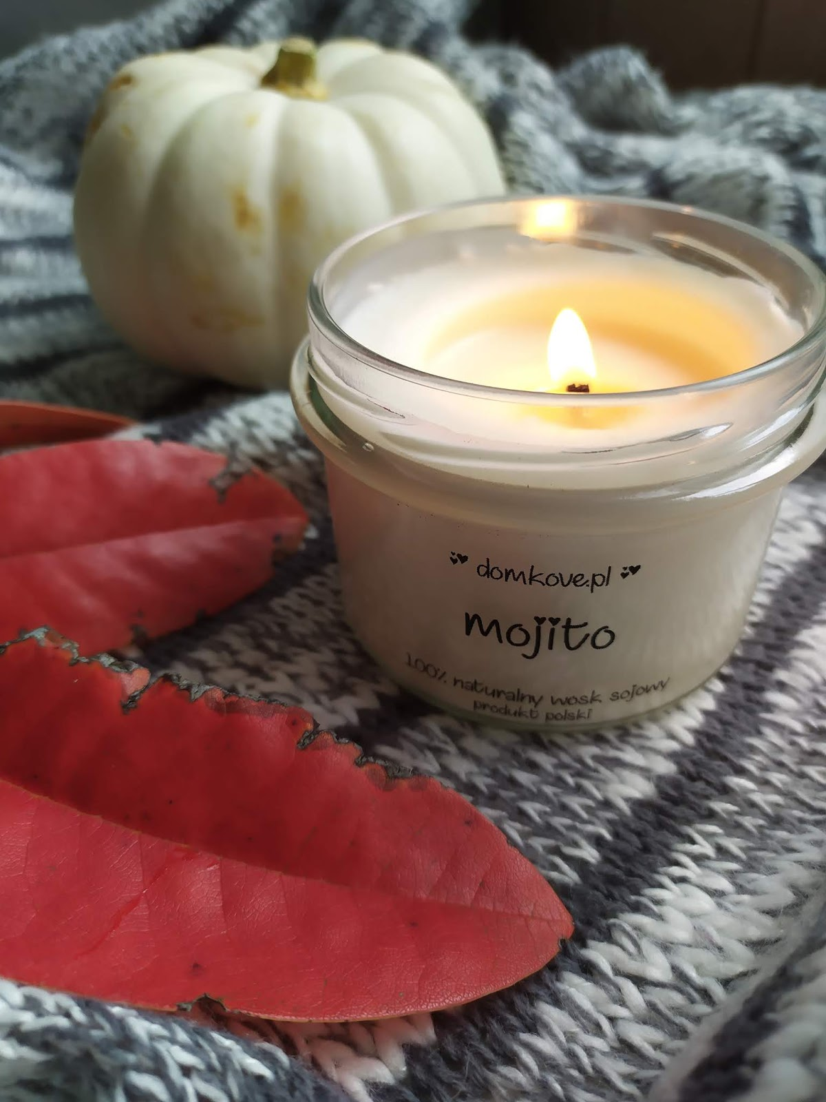 Domkove - świeca sojowa Mojito